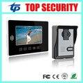 Village, office, home use 7 inch touch color screen video door phone door bell intercom with night version IR out door camera
