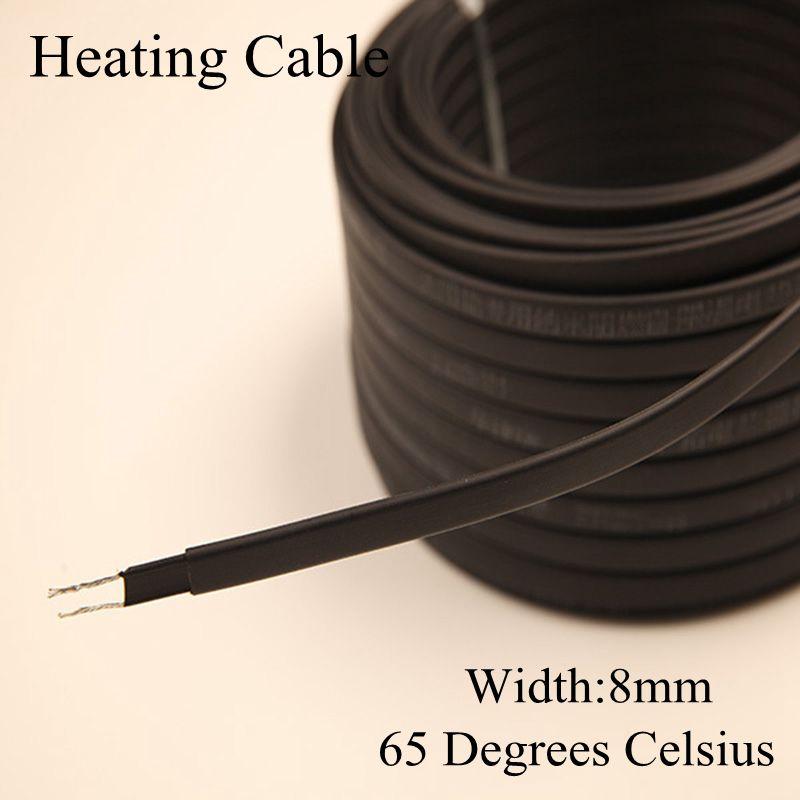Fios Elétricos anti-freeze proteção geada cabo aquecimento Aplicação : Aquecimento