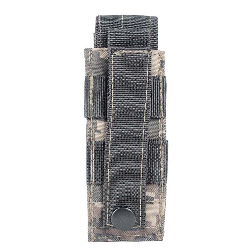 Ny 14 * 6cm 600D Tactical Bag Outdoor Vandring Molle Military Pack Nøgle Mini Værktøj Magazine Holster Pouch Sport Bag