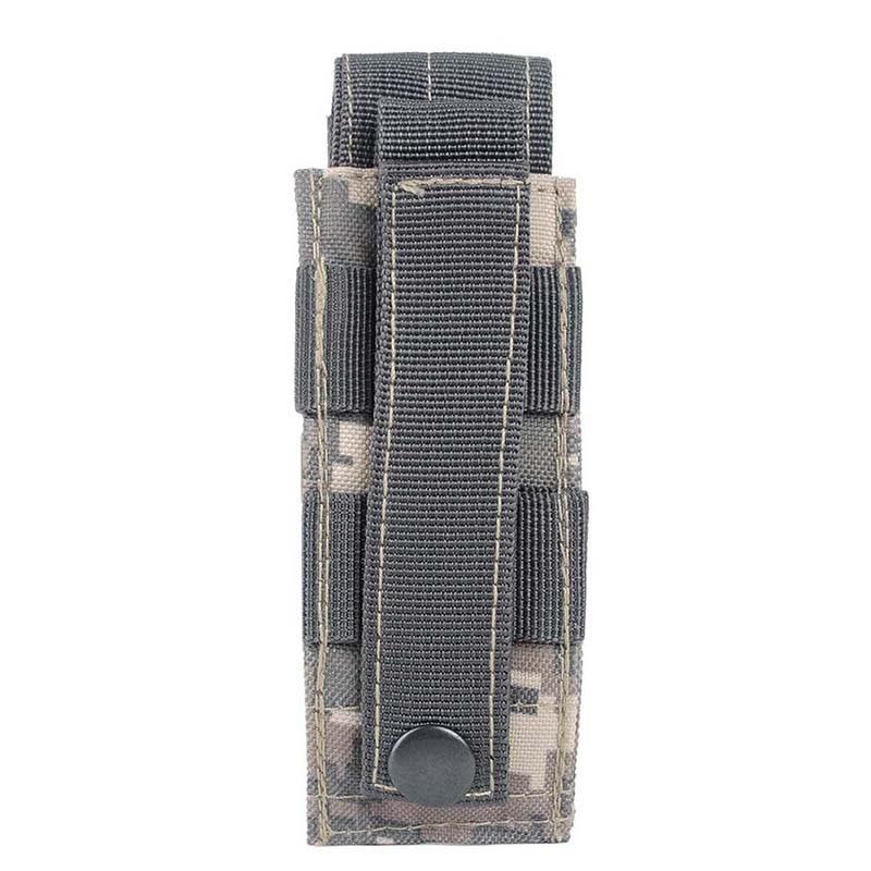 Nuevo 14*6 cm 600D Molle Militar Táctico Al Aire Libre Bolsa de Senderismo Paque