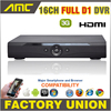 Full D1 DVR 8CH 16CH CCTV DVR 3G WIFI HDMI 1080P 16 Channel DVR P2P Cloud
