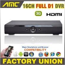 Full D1 DVR 16-КАНАЛЬНЫЙ ВИДЕОНАБЛЮДЕНИЯ DVR 3 Г WI-FI HDMI 1080 P 16 4-канальный DVR P2P Облако ВИДЕОНАБЛЮДЕНИЯ Цифровой Видеорегистратор H.264 DVR 16 Канала
