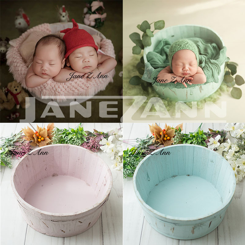 Jane Z Ann Newborn photography props infant wooden baskets photo shoot auxiliary props studio accessories jane z ann 150 170cm newborn photography blanket studio photo backdrop newborn photography accessories photo background
