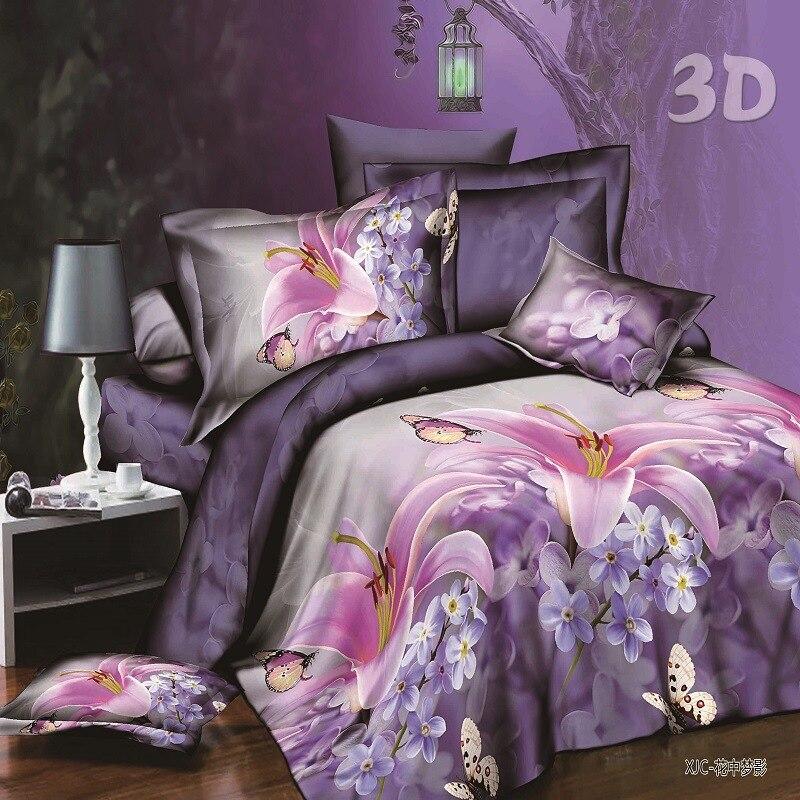 3D imekaunite piltidega voodipesukomplektid