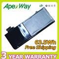 """Apexway 63.5 V laptop A1322 bateria para Apple Macbook Pro 13 """"de PRECISÃO DE ALUMÍNIO UNIBODY (VERSÃO 2009) A1278 MB991 */A MB990 */A"""