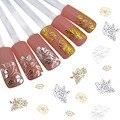 1 Лист 2016 новые прибытия Цветы Наклейки на Ногти Nail Art Наклейки Ногти Обертывания Временные Татуировки Watermark Ногтей Инструменты