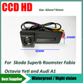 Багажник ручка автомобиля обратный камера заднего вида ночного видения для skoda octavia fabia audi A1 автомобильная камера заднего вида