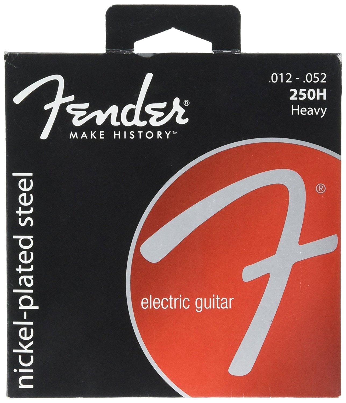 Fender Super 250's Nickel-Plated Steel Guitar Strings, All 8 Models Available, 250XS 250L 250LR 250R 250RH 250M 250H 250JM