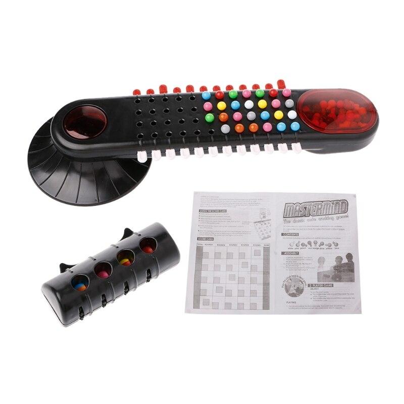 Classic Code Mastermind Cracking Bead Game Children Educational Password Toy-m15