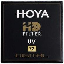 Hoya 72 мм HD UV Ультрафиолетовый фильтр цифровой Высокое разрешение объектива для Pentax Canon Nikon Sony OLYMPUS Leica объективы для фотоаппаратов