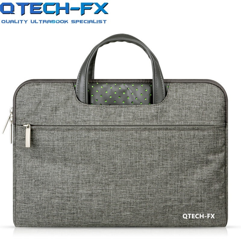 2018 Fashion Laptop Handbag 13 3 14 15 15 6inch Men Women Canvas Briefcase for QTECH
