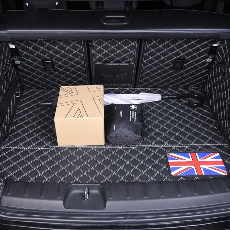 Impermeabile In Pelle Per Auto Posteriore Tronco Piano Zerbino Boot Cargo Liner Vassoio Carpet Protector Per BWM Mini Cooper 5 Porte F55 styling