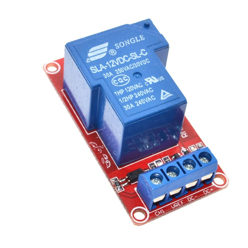 12V 30A 1-Channel Two-way Isolation Relay Module 9