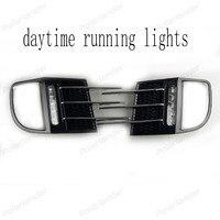 2 Pcs Bright Fog Lamp For V Olkswagen Golf 6 GTI 2010 2014 Waterproof ABS LED
