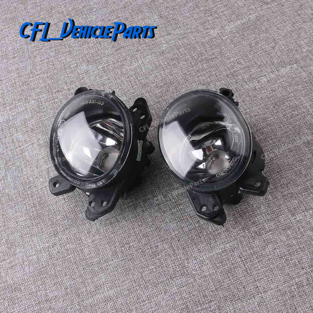 Pair Fog Light Lamp R + L Foglight 2518200756 2518200856 For <font><b>Mercedes</b></font> Benz C230 C250 <font><b>C300</b></font> C350 CL550 CL600 CLS550 GL450 ML350 image