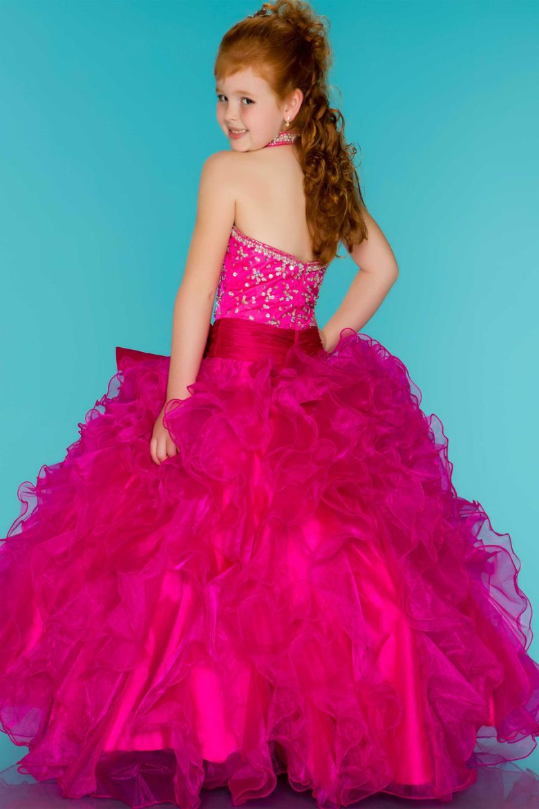 Fuchsia Dresses for Little Girls Party – Fashion dresses
