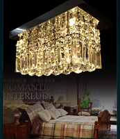 Modern Fashion Luxurious Clear Crystal Led Ceiling Light For Living Room Aisle Entrance 20 20 40