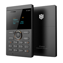 IFcane E1 Kostenloser Versand Entsperren Tragbaren Kleinen Karte Telefon mit MP3 Bluetooth FM 5,8mm Ultradünne karte mini handys P505