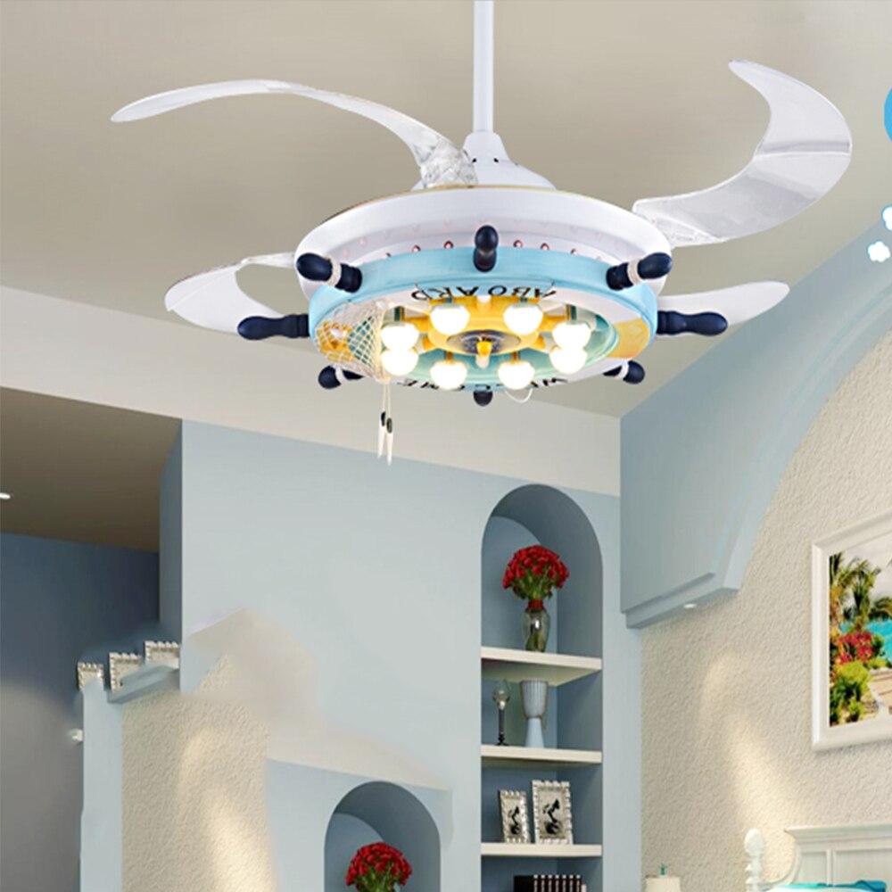 Compra ni os ventilador de techo online al por mayor de - Ventiladores de techo para ninos ...