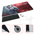 Large Gaming The Witcher 3 Wild DIY Design Pattern Computer Mousepad Gaming Mouse Pad