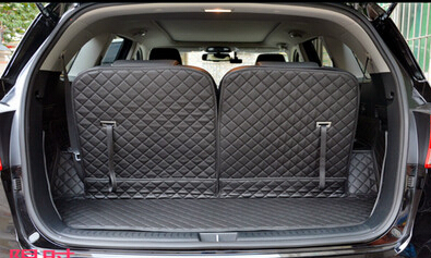 Good mats Free shipping Special font b car b font trunk mats for KIA Sorento 7seats