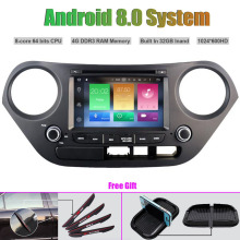Octa-Core Android 8.0 CAR Multi-Media DVD Player for HYUNDAI I10 2014-2015