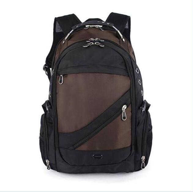 Водонепроницаемый нейлон 15 дюймов Сумка для ноутбука Sac A Dos Для мужчин рюкзаки дорожный рюкзак