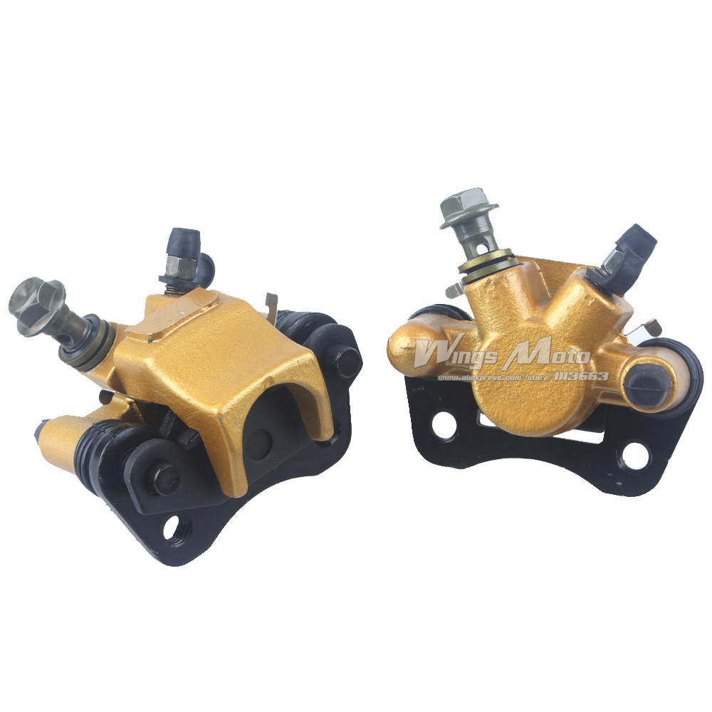 ФОТО Front Brake Caliper Left and Right 50/70/90/110cc Taotao Roketa ATV Quad Sunl Moto