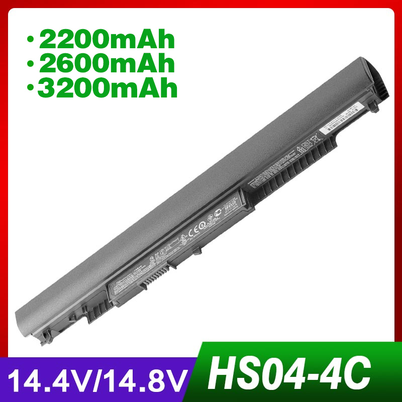 Apexway 14.4V 2200mAh Laptop Battery HSTNN-LB6V HSTNN-LB6  Hstnn Lb6v 14-af0XX 15g-ad0XX For HP HS03 HS04 240 245 250 255