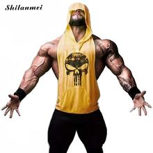 Skull Golds Stringer Tank Top Mens Sleeveless Shirt Sportswe hooodie Vest Men Bodybuilding Clothing Fitness Singlets Muscle Tops