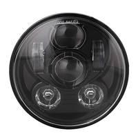 5 3/4 motorcycle headlight led h4 high low beam 5.75'' inch faro Led Moto Headlight projector lens daymaker For harley Davison