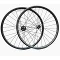 650b Углеродные mtb дисковые колеса 27 5 er 27x25 мм mtb Углеродные колеса передние powerway M42 ступицы задние powerway M82 ступицы для велосипеда