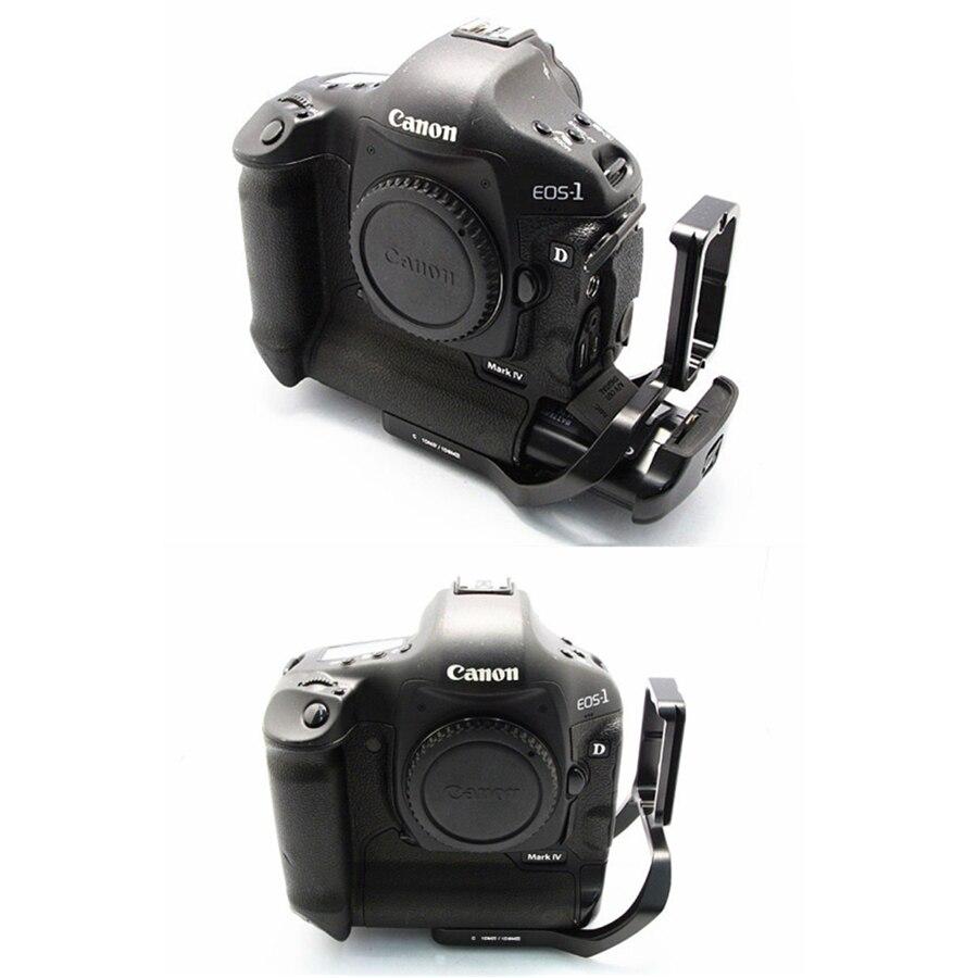 Pro Vertical L Type Support Trépied Plateau Rapide Base pour Canon 1D4 1D3 1D Mark IV III