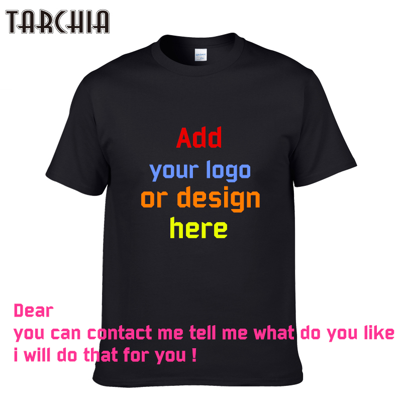 Tarchia 2018 printed personalized t shirts designer logo for Personal t shirt printing