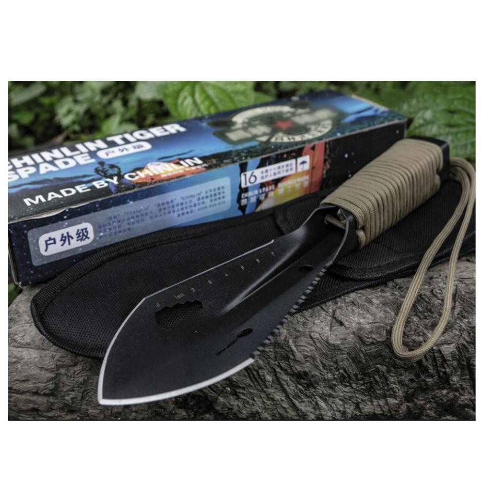 Multifunctional Outdoor Shovel Portable Small Hand Army Shovel Engineering Digging Wild Vegetables Gardening Flower Tools