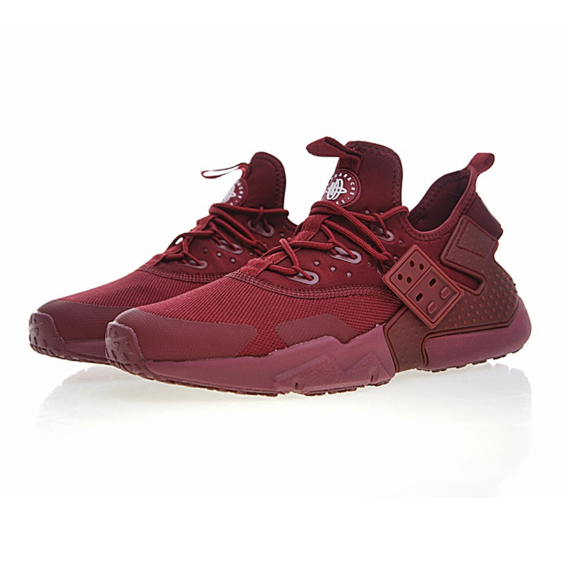 ac517fb6f1 ... best price nike air huarache drift prm mens running shoes dark red wear  resistant breathable non