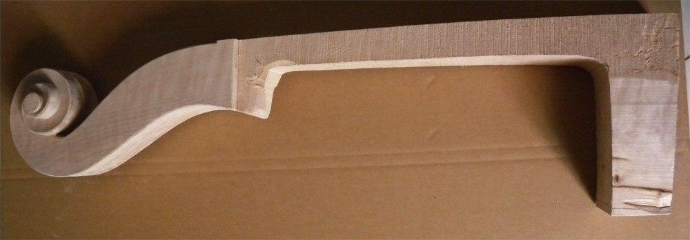 все цены на  one  UPRIGHT DOUBLE BASS NECK Lion Head Maple Wood #1  онлайн