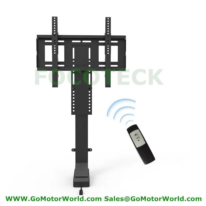 Ascenseur 80KG TV motorisé Vertical support ascenseur hauteur réglable TV montage TV ascenseur fabricant - 4