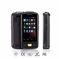 Hight Quality 1D 2D Laser Barcode Android Scanner IP64 Waterproof Phone PDA Handheld Terminal Data Collector inventory Logistics