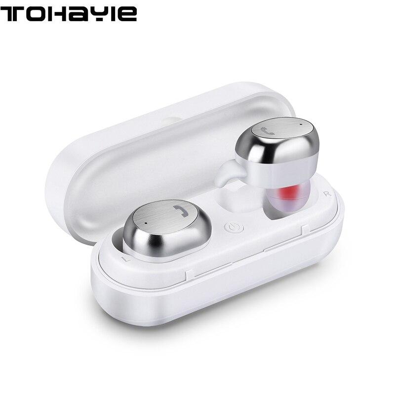 ToHayie M9 Écouteurs Sans Fil Bluetooth Casque TWS Mini Écouteurs Avec Micro Auriculares Musique Stéréo Bluetooth Écouteur Pour Téléphone