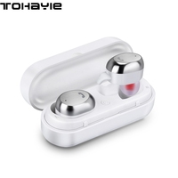 ToHayie M9 TWS Bluetooth Headset Mini Wireless Earbuds Metal Charge Box Auriculares Bluetooth Earphone For Phone