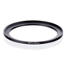מקורי עלייה (בריטניה) 82mm 95mm 82 95mm 82 כדי 95 צעד עד טבעת מסנן מתאם שחור