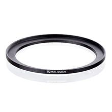 Originele RISE (UK) 82mm 95mm 82 95mm 82 om 95 Step Up Ring Filter Adapter black