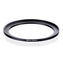 original RISE(UK) 82mm 95mm 82 95mm 82 to 95 Step Up Ring Filter Adapter black