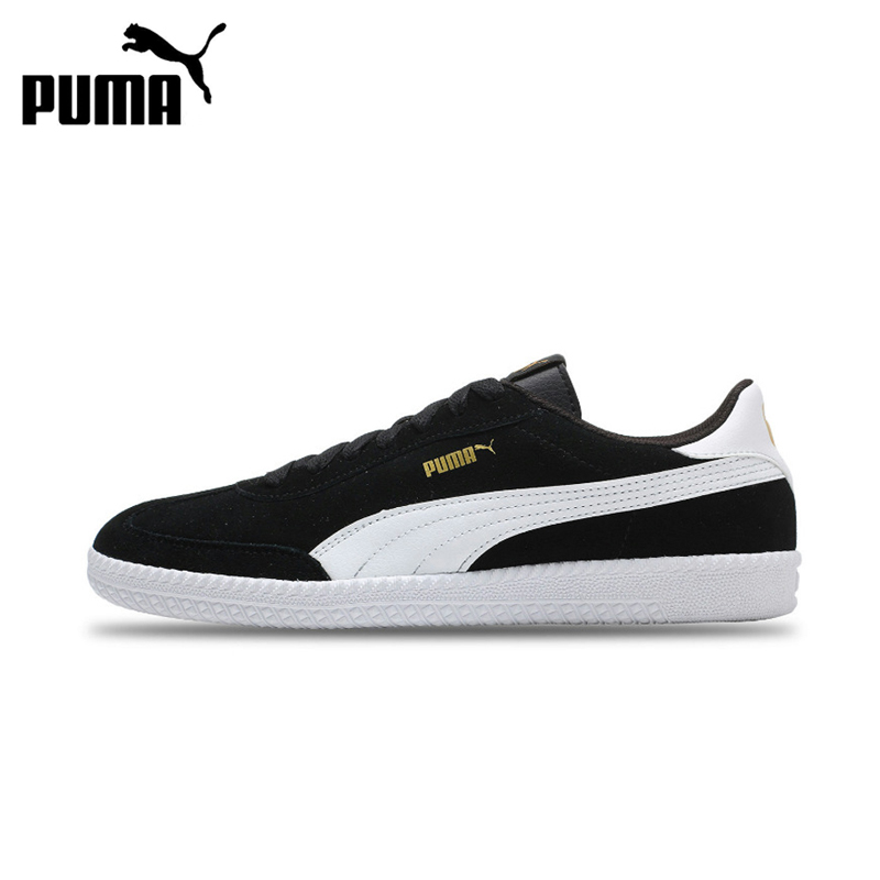 Puma Hard-Wearing Unisex Skateboarding Shoes Anti-Slippery Sneakers Comfortable Outdoor Sports for Men Women Lace-up 364423