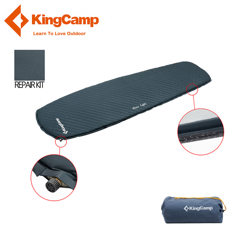 KingCamp Self Inflating Sleeping Pad Ultralight Mattress Anti-slip TPU Oxford Fabric Durable Camping Sleeping Mat for Outdoor цены онлайн