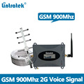 Lintratek GSM Signal Repeater GSM 900MHz Mobile Signal Booster 2G 65dB Amplifier for voice signal with Antenna and 10M Cable