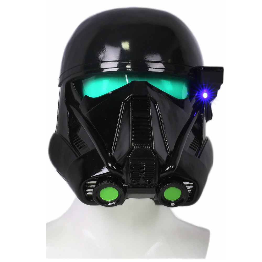 Star Wars Rogue One Death Troopers Cool Black Full Head Helmet Resin Mask Halloween Party Cosplay Costume Props 2018 Hot Sale