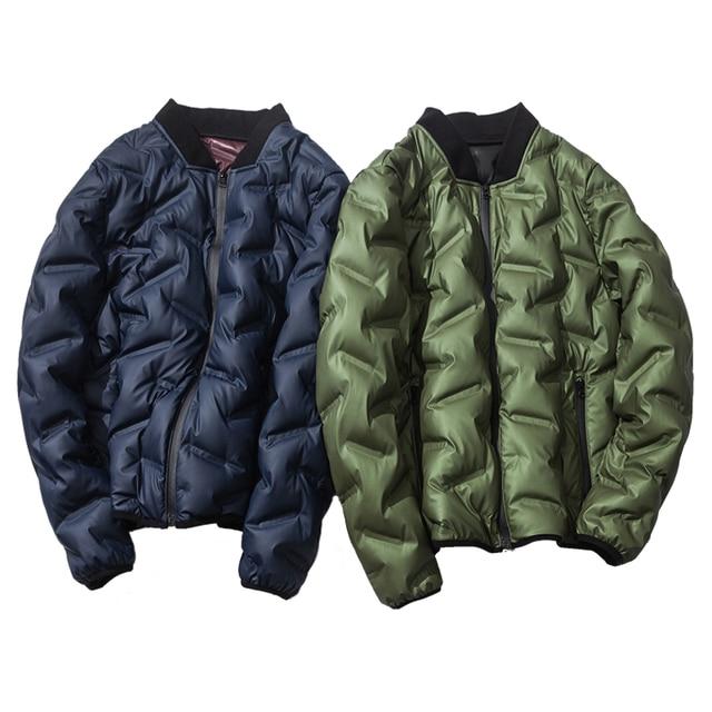 2017 зимняя мужская пуховая куртка, Верхняя одежда Куртка-пилот зима мужской пуховик черный зеленый синий M, L, XL, XXL 3XL 4XL 50-105 кг