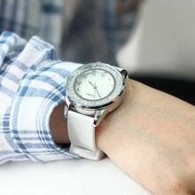 Fashion Diamond Silicone Band Women's Watches